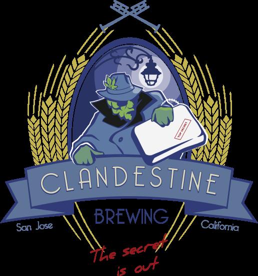 Clandestine Brewing Logo